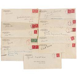 Ehret, Nevada Postal Covers - Ehret, NV