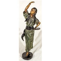 Gypsy Lady Sculptured Figure -
