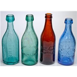Colorful Soda Bottles -