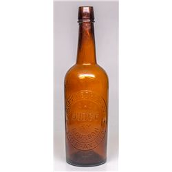 Gruenberg Old Judge Whiskey Bottle -