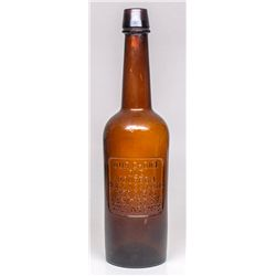 Hencken & Shroeder Whiskey Bottle -