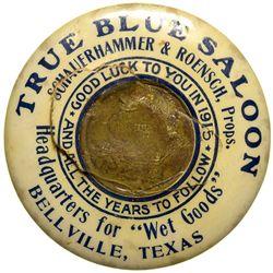 Blue Saloon Mirror - Bellville, TX