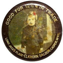 Elkhorn Saloon Mirror - Casper, WY
