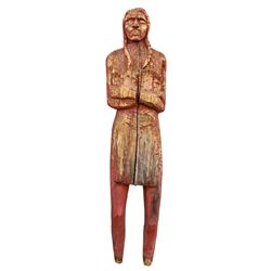 Carved Wood Indian -