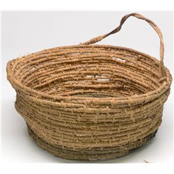 Small Braided Indian Basket -