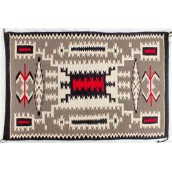 Storm Pattern Navajo Rug -
