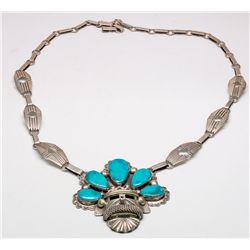 Kachina Mask Necklace -
