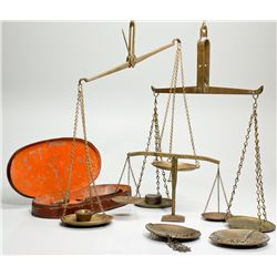 Gold Pocket Scale Trio -