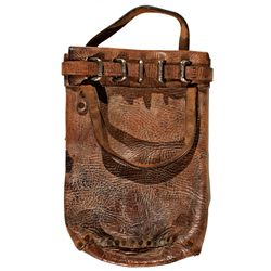Leather Assay Bag -