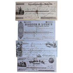 Assayer F.W. Blake Signatures - Weaverville, CA