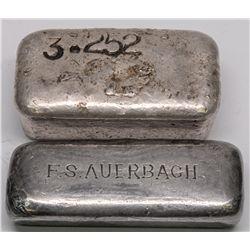 Utah Silver Ingot Pair -  UT