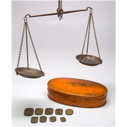 Gold Rush Style Pocket Scale -  CA