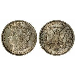 Morgan Silver Dollar 1890CC - Carson City, NV