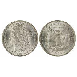 Morgan Silver Dollar 1891CC - Carson City, NV