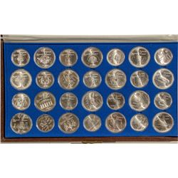 Canadian Silver 1976 Olympic Coin Set - Canada