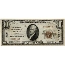 Tuscon National Bank Currency - Tucson, AZ