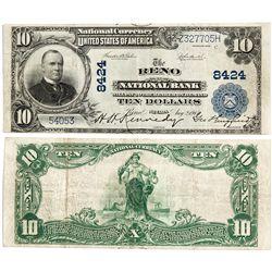Reno National Bank Currency - Reno, NV