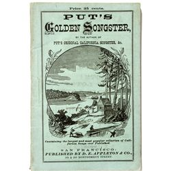 Put's Golden Songster Book - San Francisco, CA