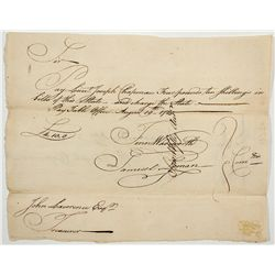 Colonial Connecticut Promissory Note -  CT