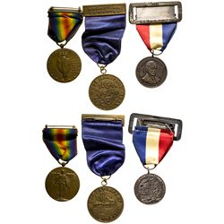 So Called Dollar Hanger Medals Trio - Hartford, CT