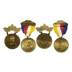 So Called Dollar Hanger Souvenir Medal Pair - St. Louis, MO