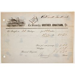 Steamship Brother Jonathon Document - Portland, OR