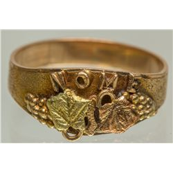 Nome Alaska Gold Ring -  AK