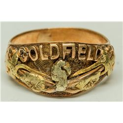 Goldfield Men's Gold Ring - Goldfield, NV