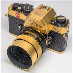 "Leica R3 Summilux ""Gold"" Camera Outfit - Wetzlar,"