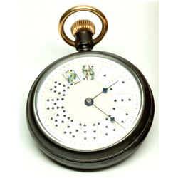"Rare ""Gambler's"" Pocket Watch -"