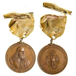 Rare Albert Pike Commemorative Medal -