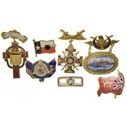 Masonic Enamel Pin Group - Boston, MA