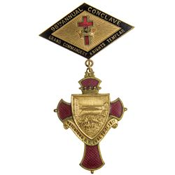 Annual Conclave of Knights Templar, Watertown N Y Black River Falls Commemorative - Watertown, NY