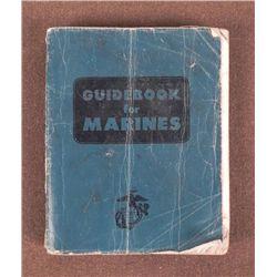 """""""GUIDEBOOK FOR MARINES"""" -KOREAN WAR ERA- 1956-475 PGS"""