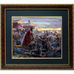 Mort Kunstler Civil War Print Framed Clara Barton Angel