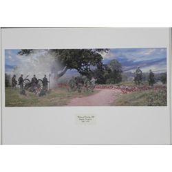Waiting at Cemetery Hill Wayne Jachson Gettysburg Print