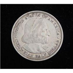1893 Columbian Commemorative Silver Half Dollar