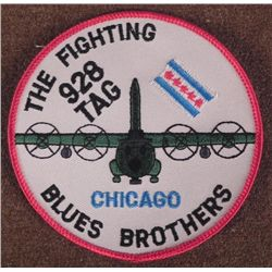 THE FIGHTING 928 TG-CHICAGO BLUES BROTHERS FLIGHT PATCH