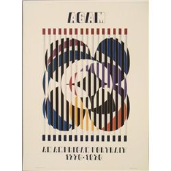 Yaacov Agam: Birth of a Flag Art Print 1975