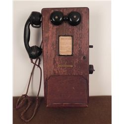 VINTAGE STROMBERG-CARLSON MAGNETO WALL PHONE