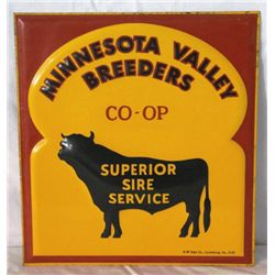 Minnesota Valley Breeders Co-op Single-sided Sign