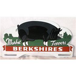 Berkshires Hog  License Plate Topper