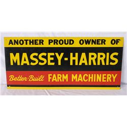 Massey-Harris Farm Machinery Single-sided Sign