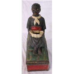 Black Memorabilia Bobble Head Bank