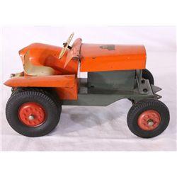 Steiff Tin Tractor Toy
