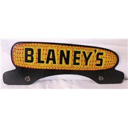 Blaney's New Oldstock License Plate Topper