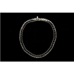 BRACELET: Mens 14kw diamond link bracelet; 150 rb dias, 4.0mm = est 36.00cttw, V.Good/G-J/I1-I2; 11.