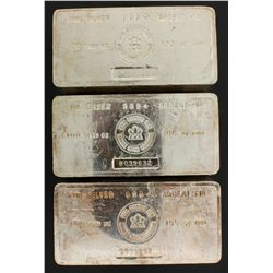 SILVER BAR:  [1] 100 troy oz. Engelhard .999 silver bar SILVER BAR:  [1] 100 troy oz. Engelhard .999