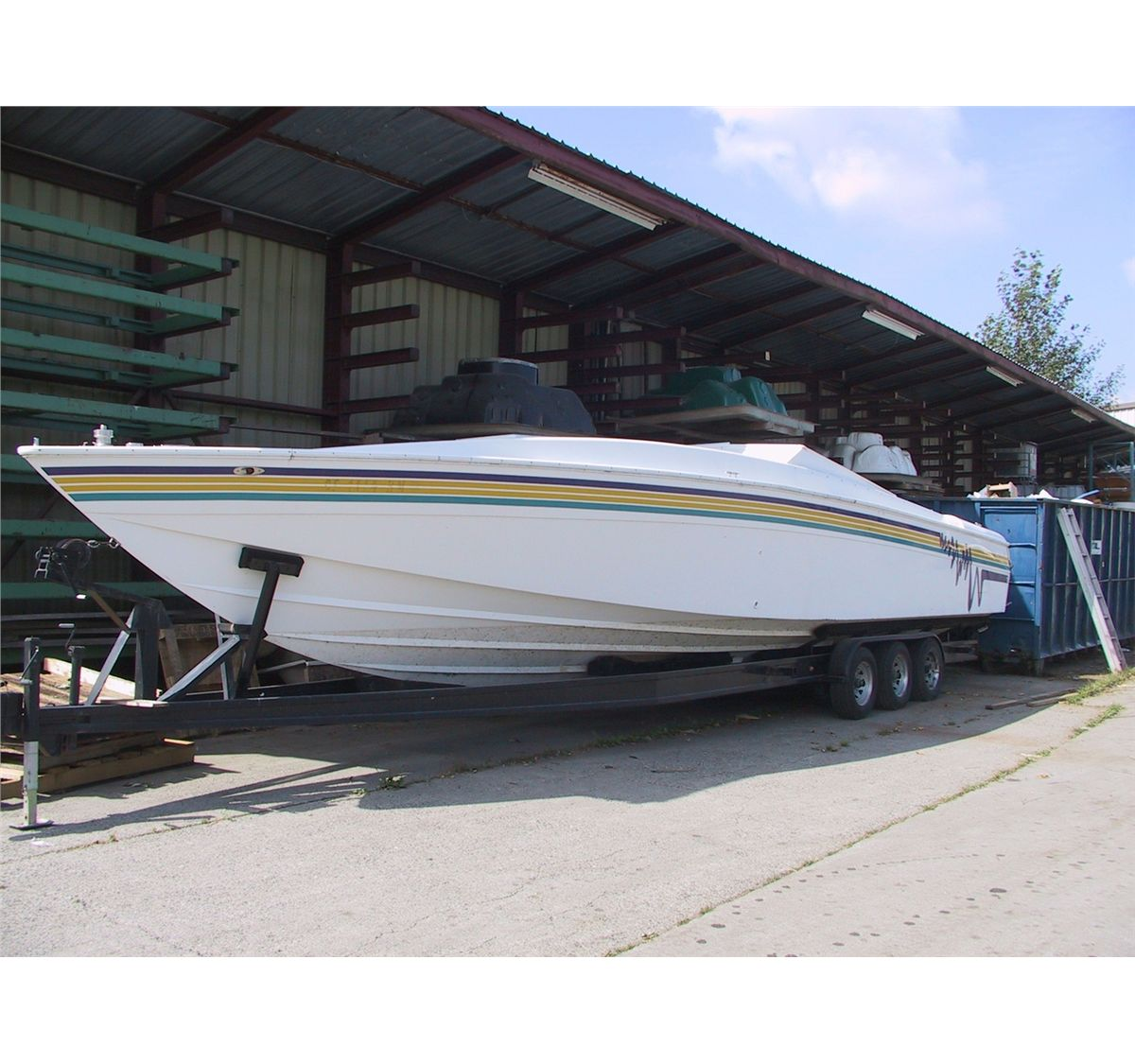 Corsa 40' Cigarette Boat 2pm Direct Liquidation 6990 Greenwood St  Burnaby