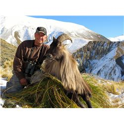 """4-DAY """"HUNTERS CHOICE"""" SAFARI FOR 2 HUNTERS INCLUDING THE TROPHY FEE OF ONE ALPINE GOAT FOR EACH AND"""